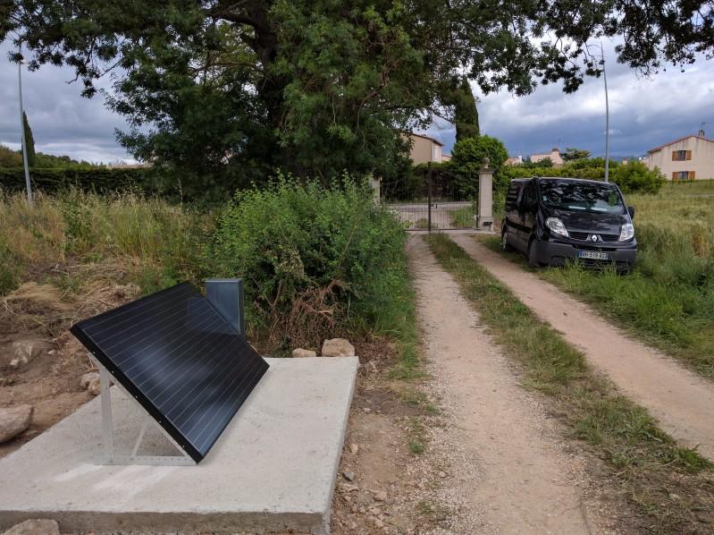 automatisme d un portail nergie solaire aeg automatisme. Black Bedroom Furniture Sets. Home Design Ideas